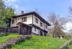 保加利亚房子在Bozhentsi 免版税库存图片