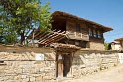 保加利亚房子复兴 库存图片
