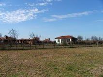 保加利亚房子 免版税库存图片