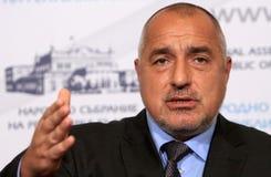 保加利亚政府博伊科・鲍里索夫 免版税库存照片