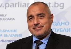 保加利亚政府博伊科・鲍里索夫 免版税库存图片