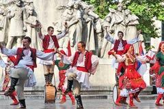 保加利亚文化在匈牙利 图库摄影