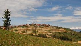 保加利亚村庄 免版税库存照片
