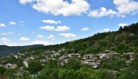 保加利亚村庄Leshten 免版税库存图片