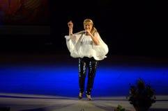 保加利亚歌手玛格丽塔Hranova 免版税库存图片