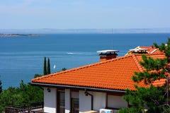 保加利亚海岸 库存图片
