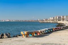 保加利亚海边 库存图片
