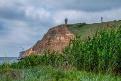 保加利亚的仅储备,包括一海洋aquatorium 库存照片