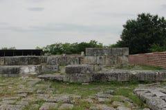 保加利亚的老首都 免版税库存图片