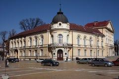 保加利亚科学院大厦在索非亚,保加利亚 库存图片
