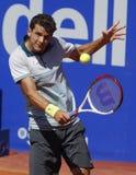 保加利亚网球员格里戈尔・季米特洛夫 免版税图库摄影
