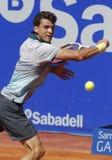 保加利亚网球员格里戈尔・季米特洛夫 免版税库存照片