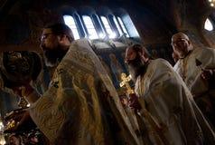 保加利亚葬礼族长格言  库存图片