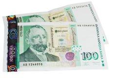 保加利亚货币 免版税库存图片