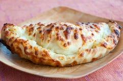 保加利亚食物国民玉米饼 免版税库存图片