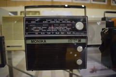 保加利亚,博物馆 2017年8月20日 收音机莫妮卡Unitra 免版税库存照片