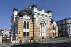 保加利亚,索非亚,犹太教堂 免版税库存图片