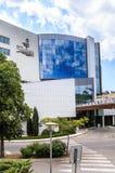 保加利亚,黑海海岸,海滨胜地Albena,旅馆fasad  免版税库存图片