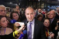 保加利亚总统当选人Rumen Radev 免版税库存图片