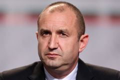 保加利亚总统当选人Rumen Radev 免版税库存照片
