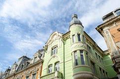 保加利亚建筑学样式 库存照片