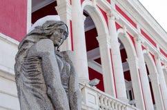 保加利亚建筑学样式 免版税图库摄影