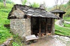 保加利亚etara房子村庄 免版税库存照片