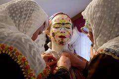 保加利亚RIBNOVO POMAK婚礼 库存照片
