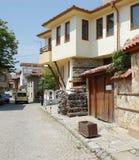 保加利亚sozopol城镇 免版税库存图片