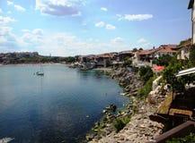 保加利亚sozopol 库存照片