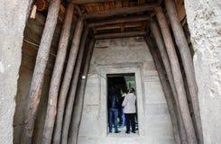 保加利亚Starosel Thracian圣所 免版税库存图片