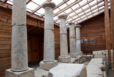 保加利亚Starosel Thracian圣所 免版税图库摄影