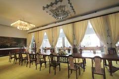 保大帝颐和园在大叻市在越南 库存图片