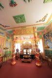 保大帝颐和园在大叻市 免版税库存图片