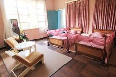 保大帝颐和园在大叻市 免版税库存照片
