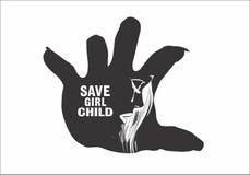 保存儿童概念 免版税库存图片