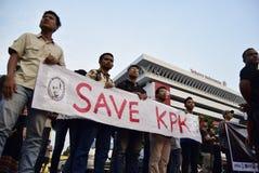 保存印度尼西亚的kpk 免版税库存照片