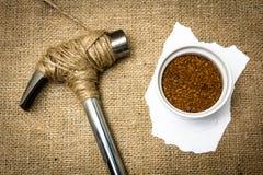 保存咖啡 免版税库存图片