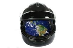 保存我们的行星,您是的谁! (美国航空航天局提供的一部分的图象http://earthobservatory.nasa.gov) 库存照片