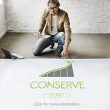 保存生态环境保存概念 免版税库存照片