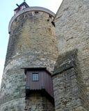 保存良好的城楼从13世纪在南德国 库存图片