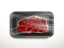 保存良好的牛肉例证 向量例证