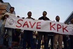 保存Indonésia的KPK 免版税库存图片
