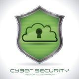 保安系统 库存例证