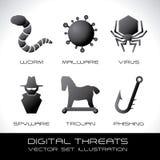 保安系统 向量例证