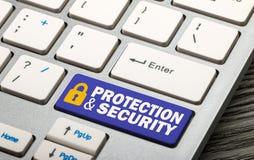 保护和安全 免版税图库摄影