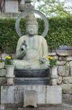 保护和教菩萨雕象  免版税库存照片