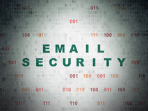 保护概念:在数字式电子邮件安全 图库摄影
