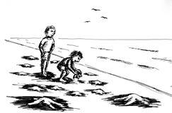 保护海星 免版税库存照片