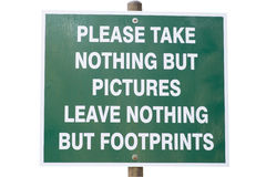 保护环境符号 免版税库存图片